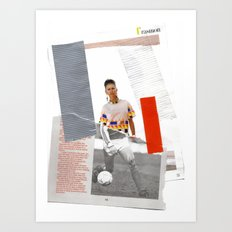 Football Fashion #7 Art Print