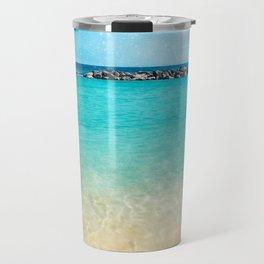 Blue Curacao Travel Mug