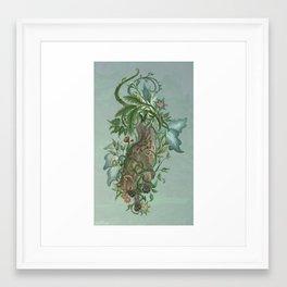 Hyena in Thorns Framed Art Print