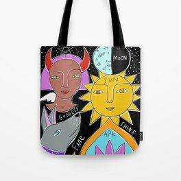 yoga mind sketchy mat Tote Bag