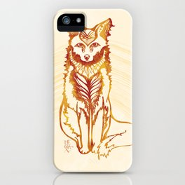 Ethereal Fox iPhone Case