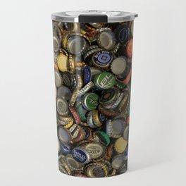 Bottlecap Collage Travel Mug