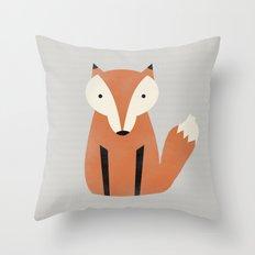 Foxiest Fox Throw Pillow