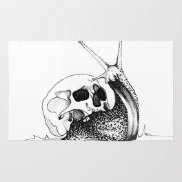 This Skull Is My Home Rug