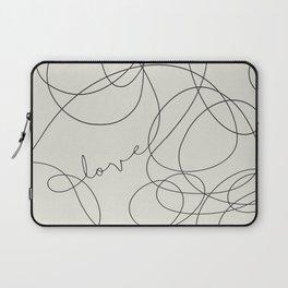 Love Like Crazy Laptop Sleeve