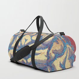 Blue Thoughts Duffle Bag