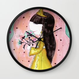 princesse Wall Clock