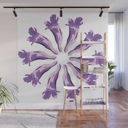 Jacaranda´s Flowers Wall Mural