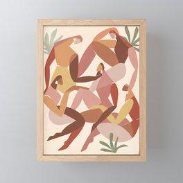 Girl squad Framed Mini Art Print