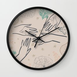 REACHING SPARK Wall Clock