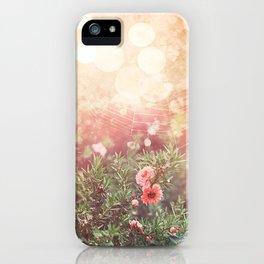 Enchanted Spiderweb iPhone Case