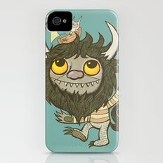 An Ode To Wild Things Slim Case iPhone (4, 4s)