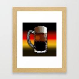 German Sunset Framed Art Print