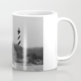 Hatteras Black & White Coffee Mug