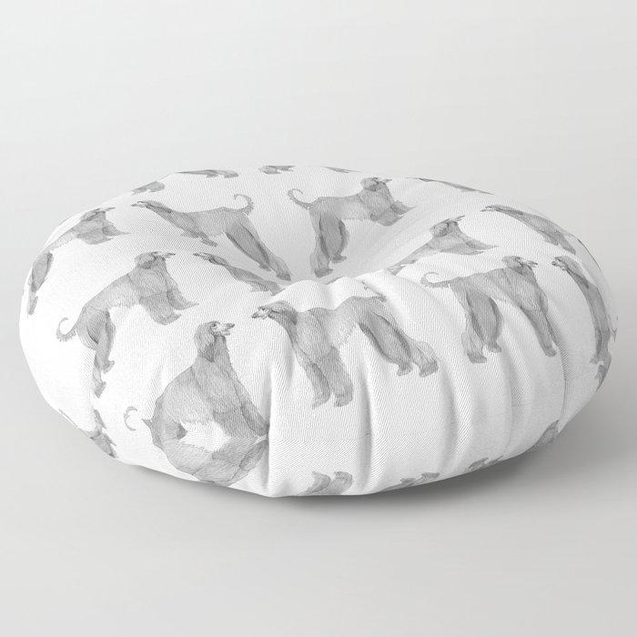Afghan hound Floor Pillow