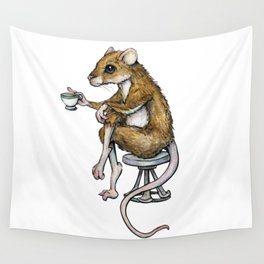 RAtea/ Pinkies Up! Wall Tapestry