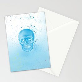 Blended skull Stationery Cards