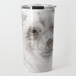 Grizzly :: A North American Brown Bear Travel Mug