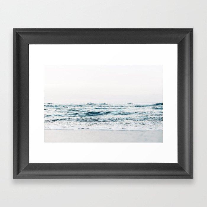 Ocean, waves Gerahmter Kunstdruck