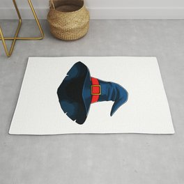 Witch Hat Funny Halloween Horror Scary Rug