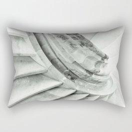 Sand stone spiral staircase 009 Rectangular Pillow