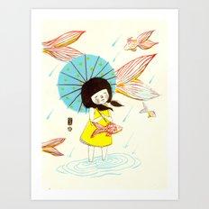 장마   Rainy Season Art Print