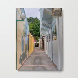 Napier City Alleyway Metal Print