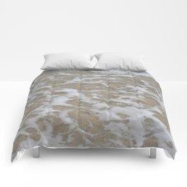 Foam of the ocean Comforters