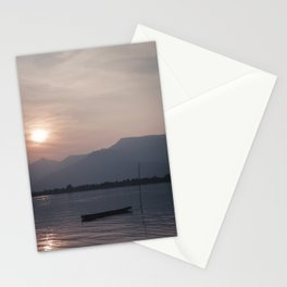 Sunset at Mekong Stationery Cards