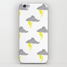 Cloudy Without You iPhone Skin