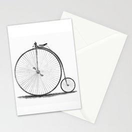 Penny-farthing. Stationery Cards