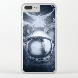 The Trinity and The Spectrum Clear iPhone Case