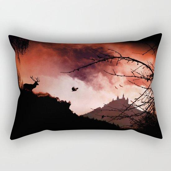 Dramatic cloudy scenery Rectangular Pillow