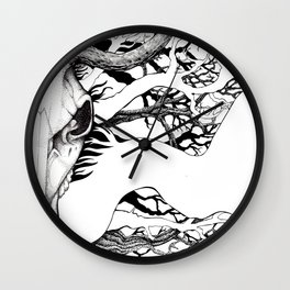 The Erl-King Wall Clock