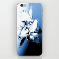 angel wings iPhone & iPod Skins featuring Angel Wings by Brian Raggatt