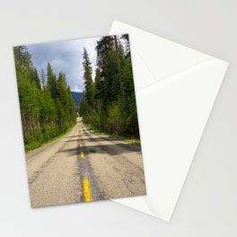 McKinley Grove Road, Sierra National Forest, California Stationery Cards