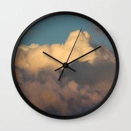 mind · sky Wall Clock