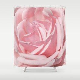Landscape Summer Rose Shower Curtain