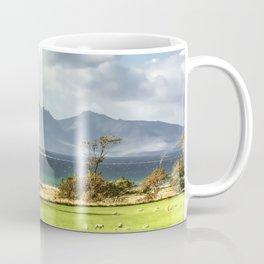 Isle of Arran from Portencross Ayrshire (2) Coffee Mug