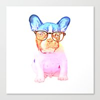 mike wrobel Canvas Prints featuring Mike by babaganoosh