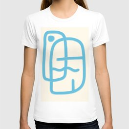 FISHERMAN ABSTRACT PORTRAIT T-shirt