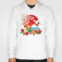 japan Hoodies featuring Japan by rie_lalala