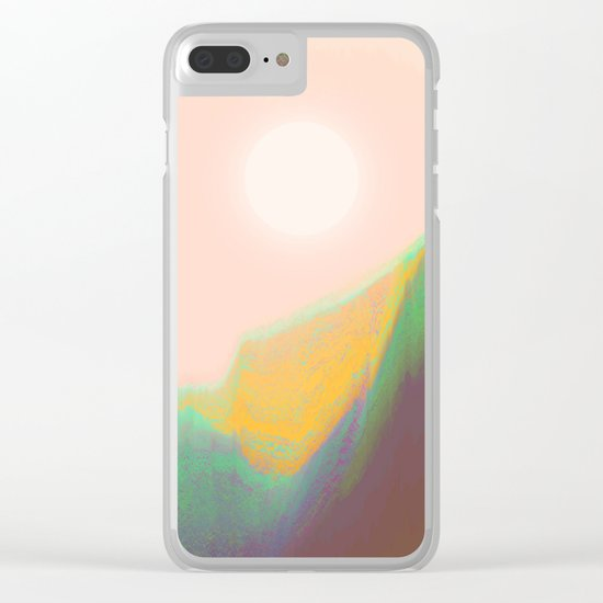 Mountain Heat Clear iPhone Case