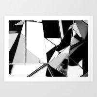 Reflectionisms - 1 Art Print