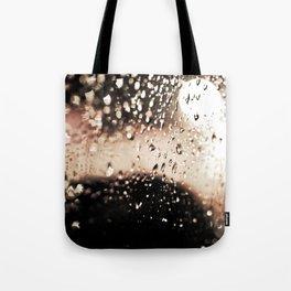 Red Rain Tote Bag