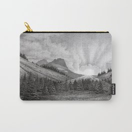 Son Rise (Sunset at Gorilla Mountain) Carry-All Pouch