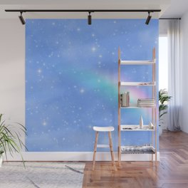 Aesthetic Sky Outer Space Retro Design Wall Mural