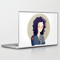 ripley Laptop & iPad Skins featuring Last Survivor of the Notsromo by Nan Lawson