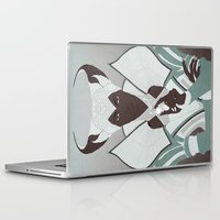 dragon age inquisition Laptop & iPad Skins featuring Dragon Age: Vivienne by Couple Of Kooks