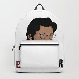 LA CASA DE PAPEL tee shirt El Profesor Backpack